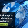 How to Drive Visitors to Your Website / Blog