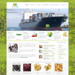 sample web design for agro product export