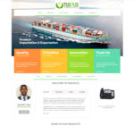 agric product website design