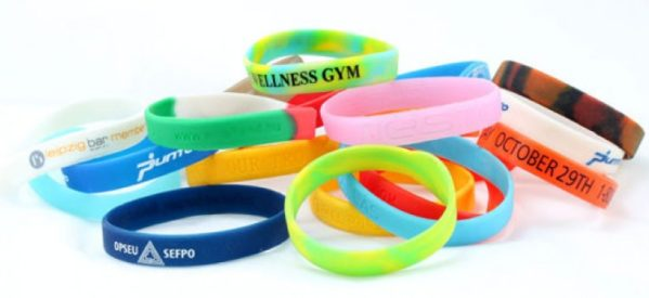 5 Most Common Uses for Silicon Wristbands