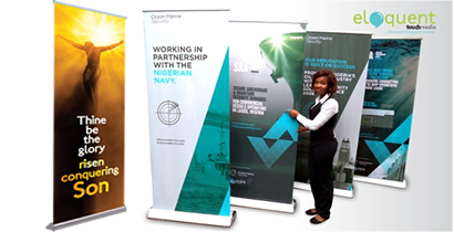 Print Roll-up banners in Nigeria