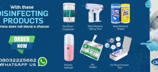 Buy these Disinfection Products against COVID-19