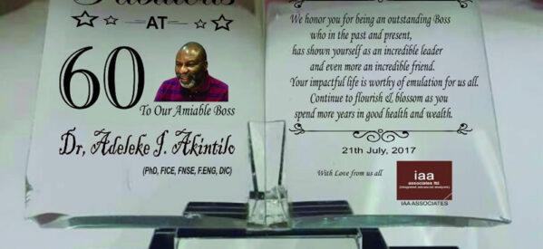 Award Plaque Types in Lagos, Nigeria